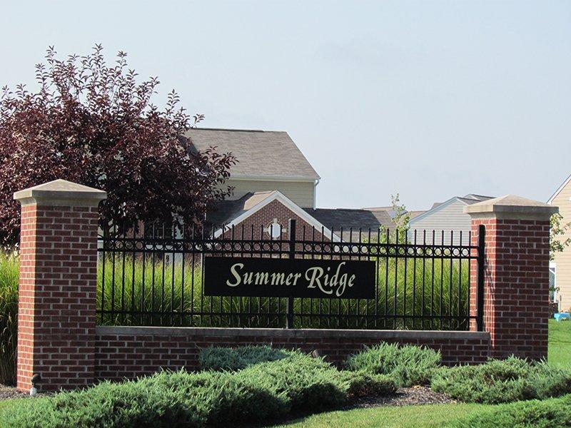 West Entrance: Summer Ridge, Brownsburg, IN