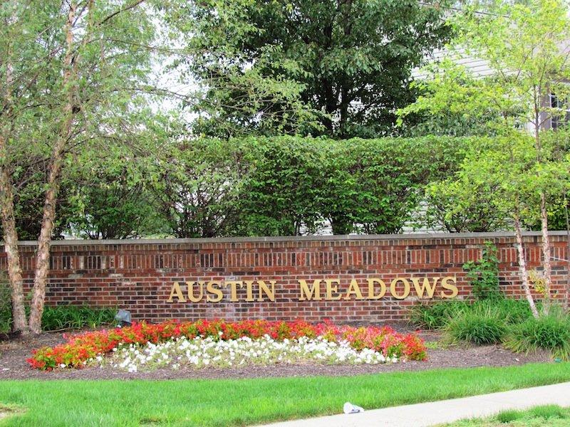 Entrance: Austin Meadows, Brownsburg, Indiana