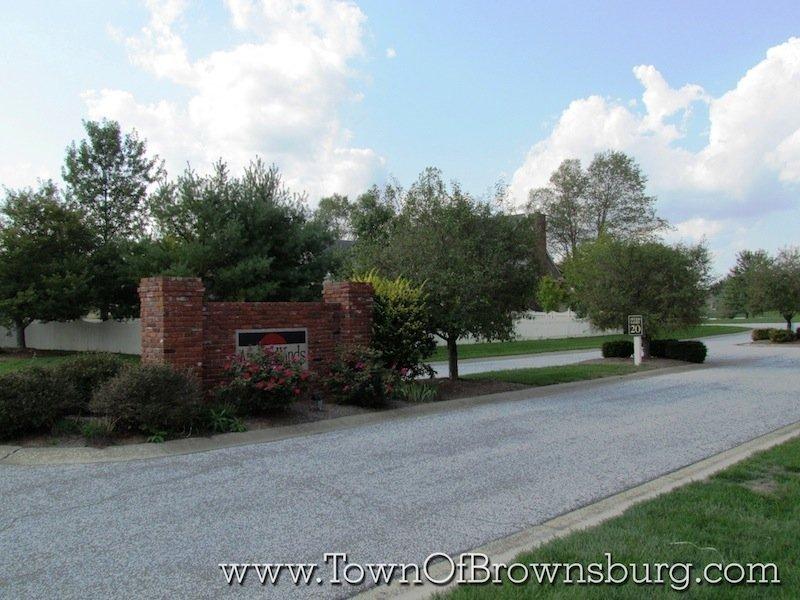 Austin Winds, Brownsburg, IN: Entrance