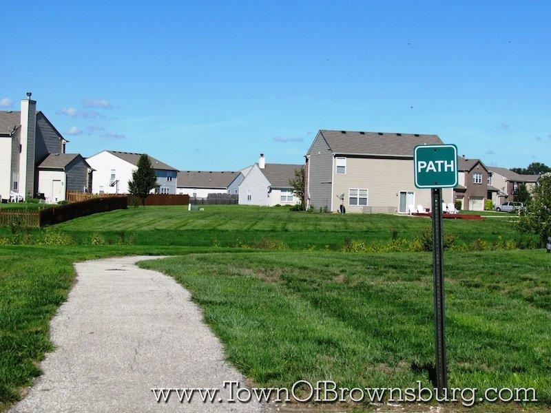 Bersot, Brownsburg, IN: Walking Path