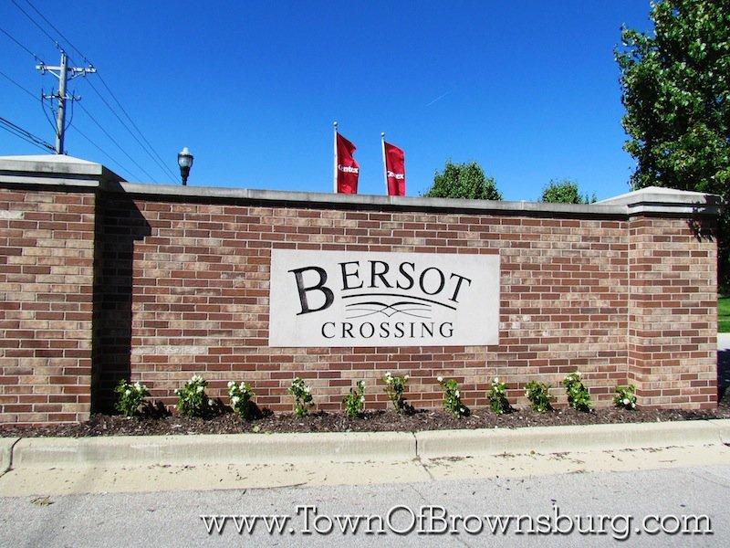 Bersot, Brownsburg, IN: Entrance