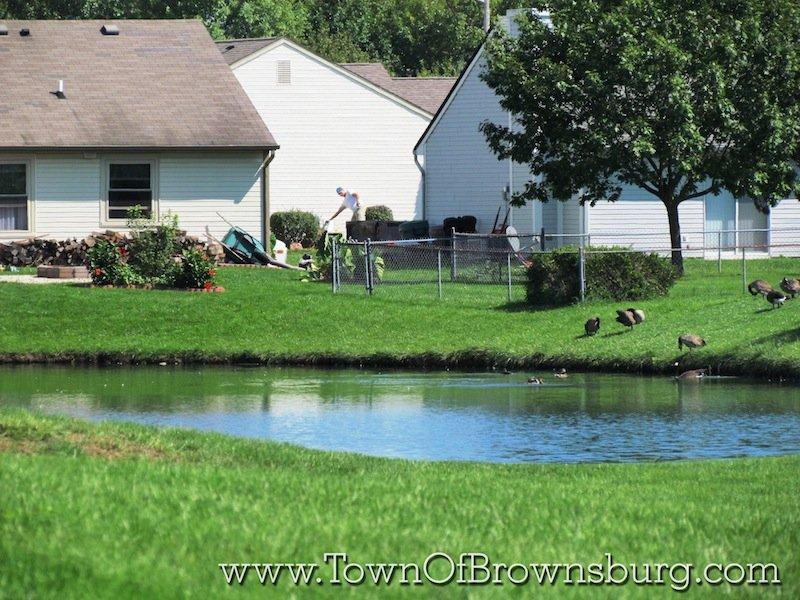 Cedar Run Lake, Brownsburg, IN: Lake