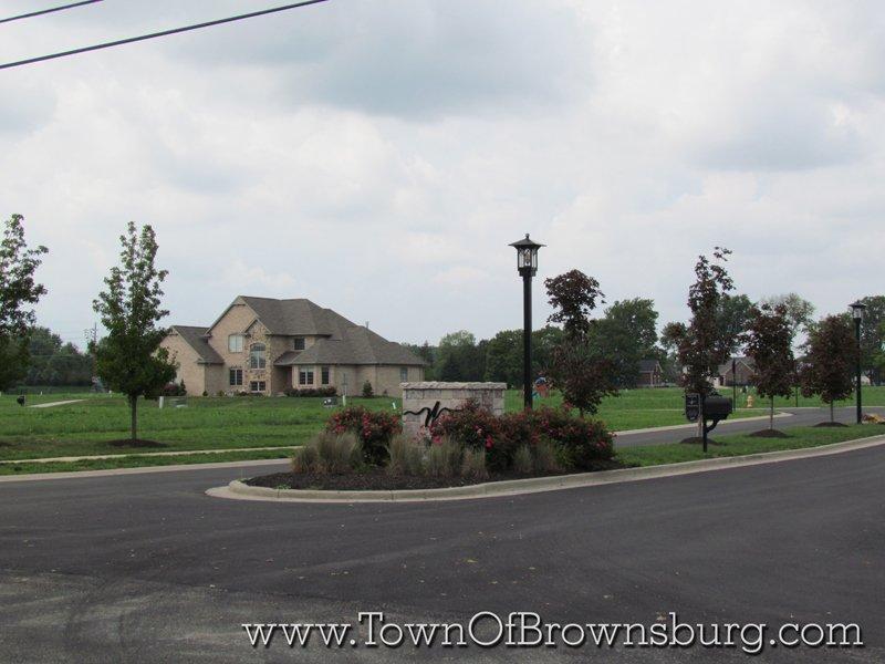 WindRidge Landing, Brownsburg, IN: Entrance