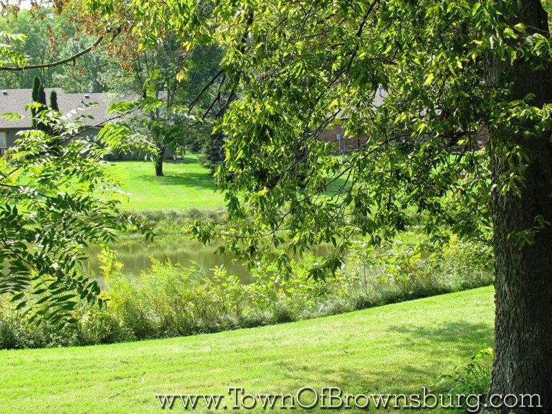 Green Hills, Brownsburg, IN: Pond