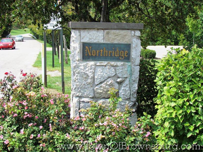 North Ridge, Brownsburg, IN: Entrance
