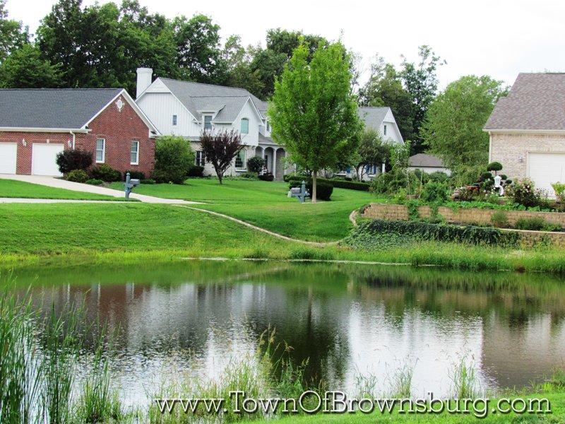 North Ridge, Brownsburg, IN: Pond