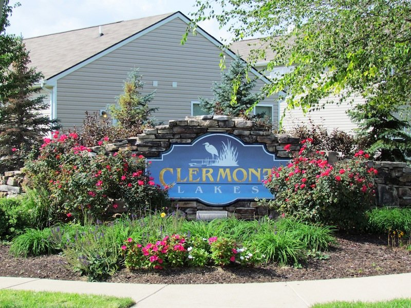 Clermont Lakes, Brownsburg, IN: Entrance