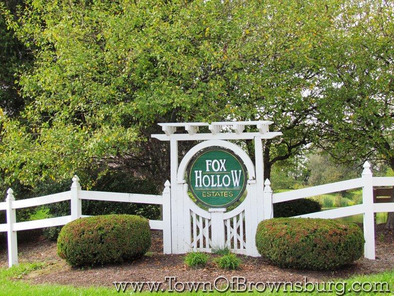 Fox Hollow, Brownsburg, IN: Entrance