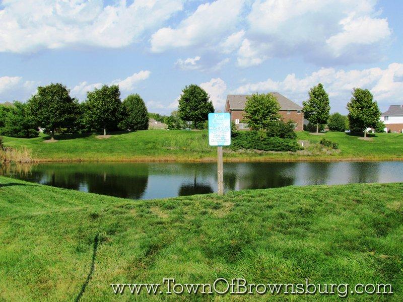 Reel Creek, Brownsburg, IN: Pond