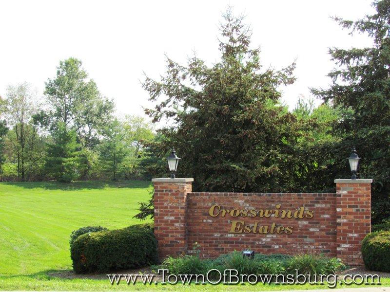 Crosswinds Estates, Brownsburg, IN: Entrance