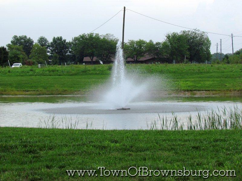 Williamsburg, Brownsburg, IN: Pond