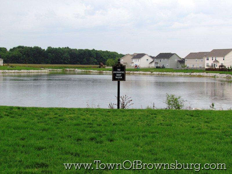 Lake Ridge, Brownsburg, IN: Pond