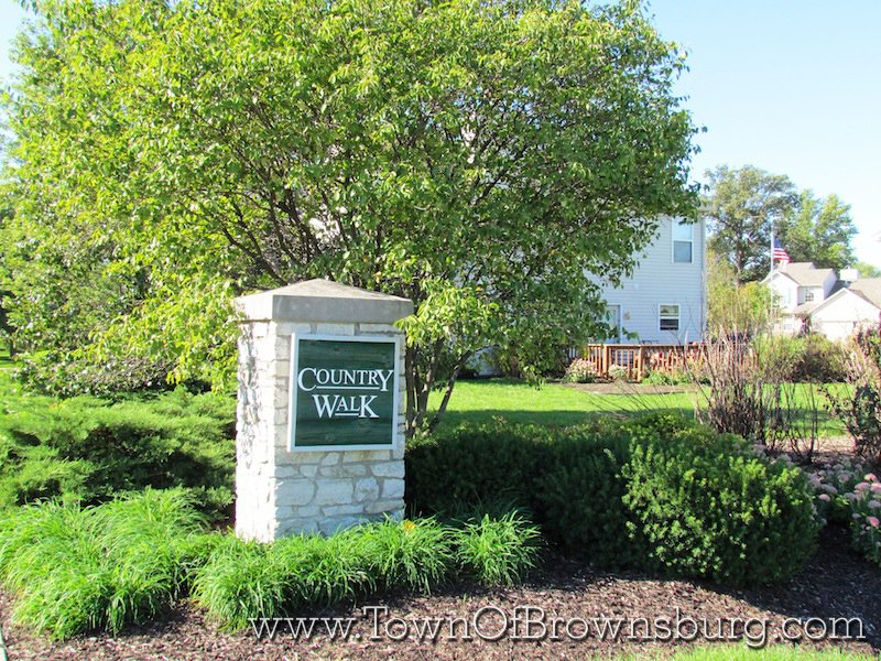 Country Walk, Brownsburg, IN: Entrance