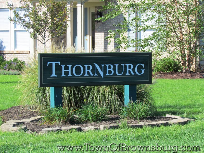 Thornburg, Brownsburg, IN: Entrance