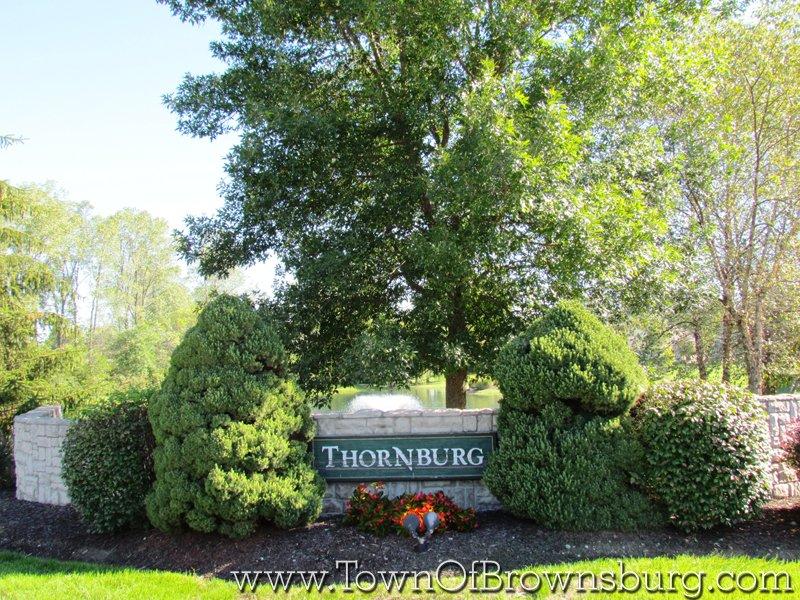 IThornburg, Brownsburg, IN: Entrance