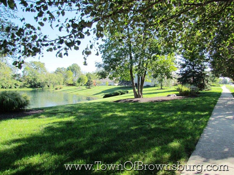 Thornburg, Brownsburg, IN: Pond