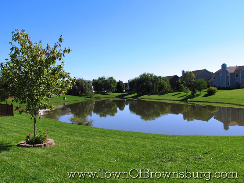 Lincoln Point, Brownsburg, IN: Pond