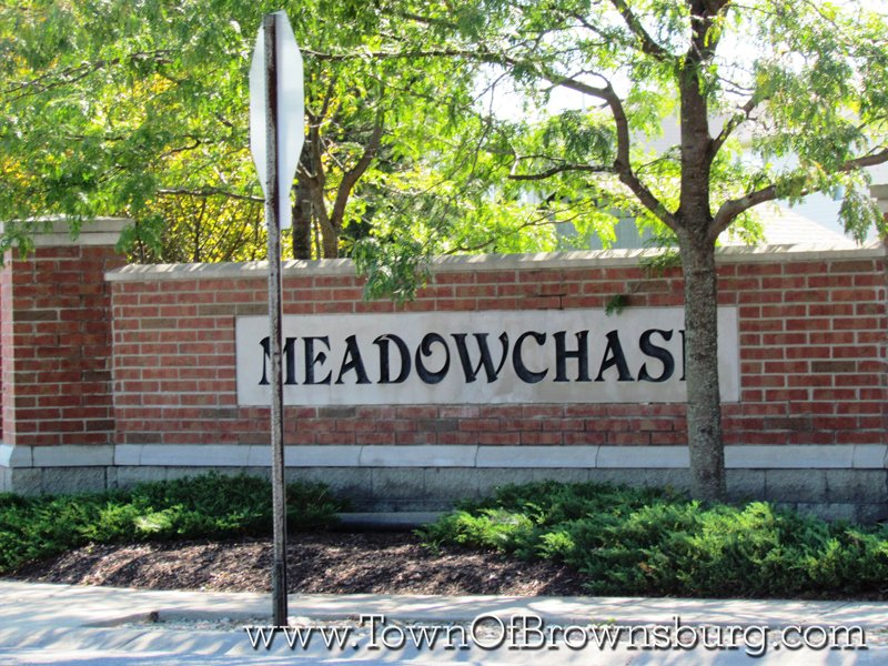 Meadow Chase, Brownsburg, IN: Entrance
