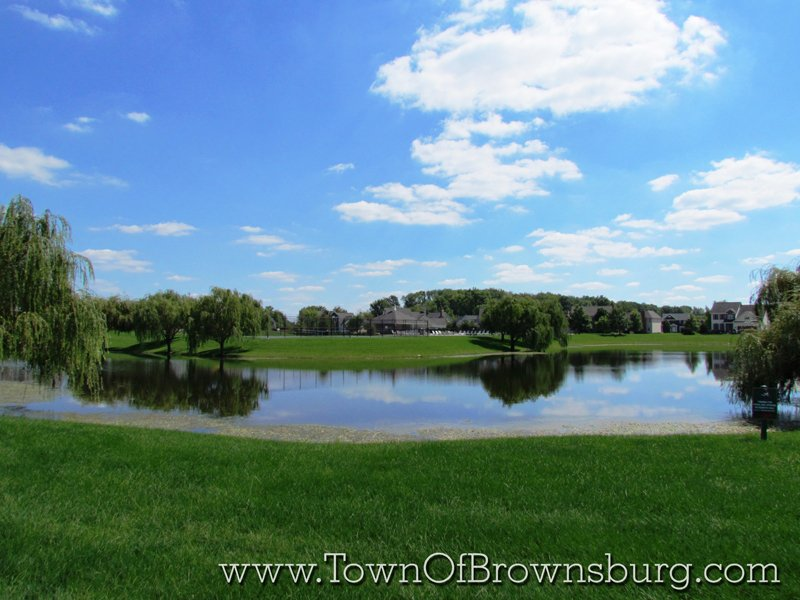 Highland Springs, Brownsburg, IN: Pond