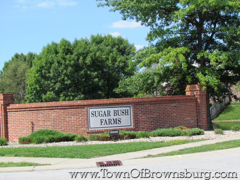 Sugar Bush Farms, Brownsburg, IN: Entrance