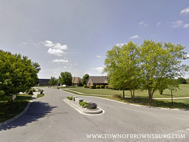 South Entrance – Country Meadows Neighborhood, Brownsburg, IN