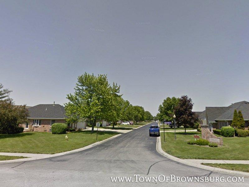 West Entrance – Sugar Bush Condominiums – Brownsburg, IN