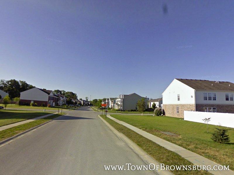 Entrance – Silverleaf Neighborhood – Brownsburg, IN