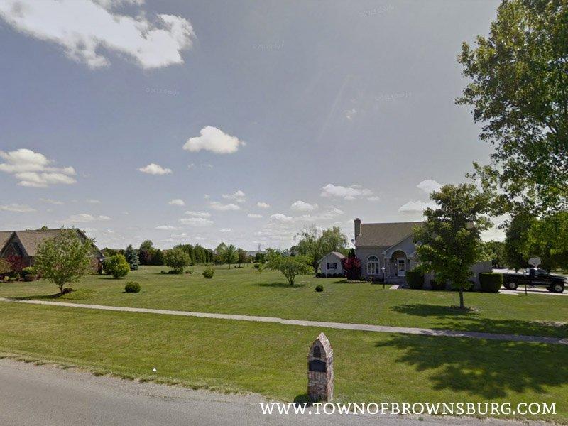 West Entrance – Country Meadows Neighborhood, Brownsburg, IN