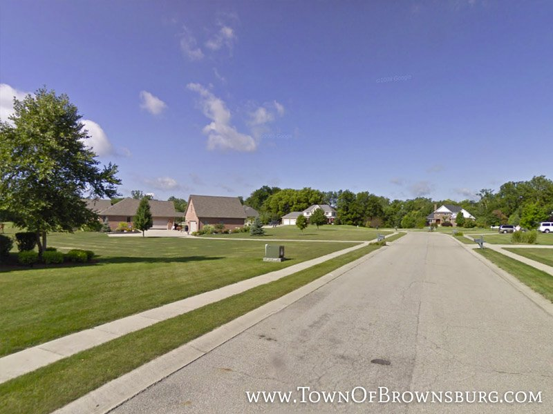 Entrance – Creek Ridge Estates, Brownsburg, IN