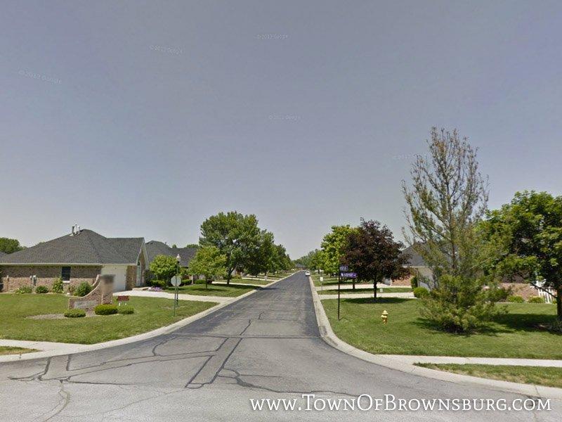 East Entrance – Sugar Bush Condominiums – Brownsburg, IN