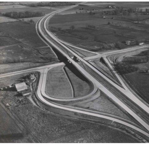 Brownsburg-I74-Interchange-1963