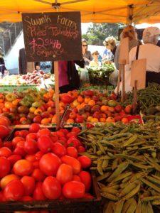 Enjoy local produce at the Brownsburg Farmers Market.